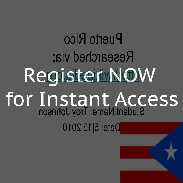 Puerto Rico Dating Org